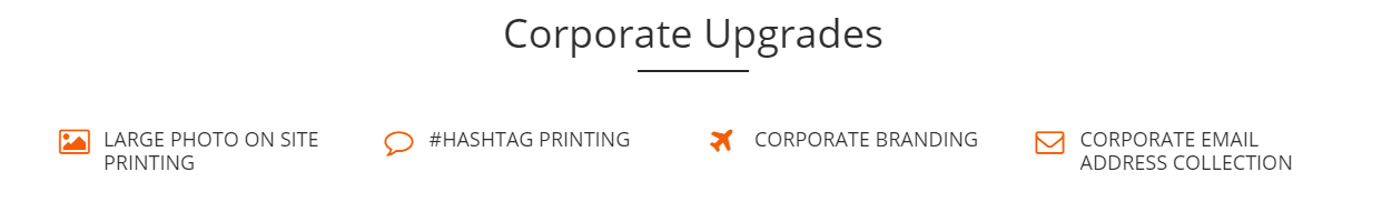 Corporate Upgrades