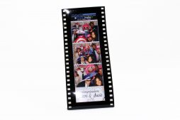 Photo Strip Holder - Movie Strip Acrylic Frame 2x6_Front
