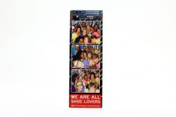 Photo Strip Holder - Photostrip L Shaped Acrylic Frame 2x8_Front