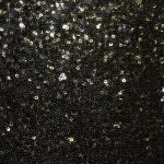 Premium Backdrop - Black Glitz
